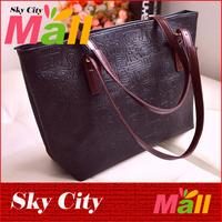 New 2014 Fashion Women PU Leather Handbags Women Handbag Messenger Handbags Shoulder Bag