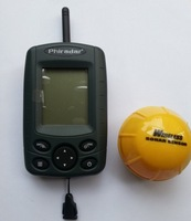 Free water fish size visual 100 meters wireless fish finder fish play charge boat nest