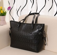 Casual skull big bag 2014 new wave of European and American minimalist shoulder bag female bag