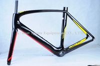 FREE SHIPPING 2014 NEW SPV21  carbon road  Bike frame Carbon Bicycle Frame,size 49,52,54,56,58CM,Free gift
