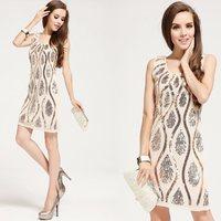 New 2015 women summer dresses cocktail dress party dress summer dresses Free Shipping
