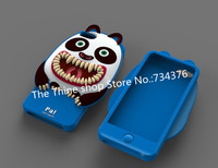 3pcs/lot ,New brand fashion 3D cute animal Octopus cat monkey design ARIZOOO silicone case for iphone 5 5C free shipping