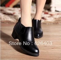 2014 new retro with casual boots, wild nude elastic pointed boots, fashion sexy shoes, free shipping