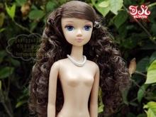 Kurhn dolls China doll nude doll new style 14 joint body naked doll blue eyes and wavy hair Free shipping(China (Mainland))