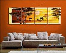 wholesale elephant oil painting
