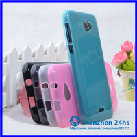 1 pcs/lot Free Shipping New Hight quality soft tpu  Case For Fly IQ454 EVO Tech 1 phone bags & cases