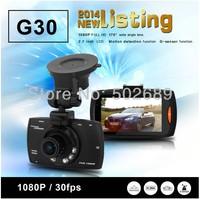 NT96650 G30 Full HD DVR Support G-Sensor + 1920*1080@30fps + AR0330 Sensor + Night Vision + 170 Degree Angle Lens Free Shipping