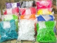 Free FedEx shipping 500sets /a lot rubber bands loom kit RefillsTwistz Bands 600bands+24S-Clips for DIY bracelets