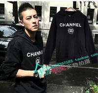 2014 boy  clothing Ssur channe double-circle male Women sweatshirt outerwear lovers design  novelty dresses