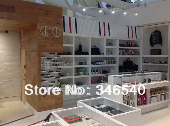 Aliexpress.com : Buy 2014 FUNROAD nuevo diseno MDF blanco elegante exhibidor ...