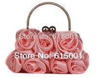 Popular Silk Elegant Noble Dinner Ladies  Bag High grade Handbag Free Shipping