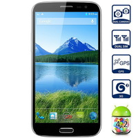 Star HD9800 Smartphone 6.0 HD IPS Screen MTK6592 Octa Core Android 4.2 2GB RAM + 16GB ROM 3G GPS 8 cores cpu- Black