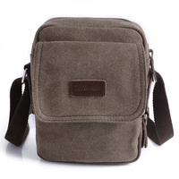 2014 New Casual Men Small Canvas Messenger Bag Retro Vintage Sport Military Male Cross Body Shoulder Bag Rucksack #HW03026