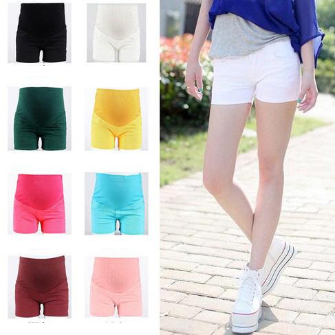 Plus size Maternity Shorts Belly Pants 8 colors 2014 Pregnant Women Short Pants Trousers Cravida Pregnancy Clothing Summer New