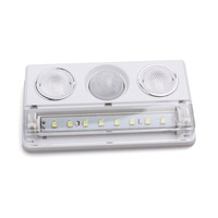 L1137 0.5W 6000K 60LM SMD 3528+2*Spot LEDs Motion Sensor White Light LED Cabinet 83810