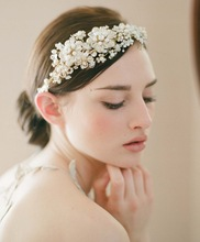 bridal flower headband promotion