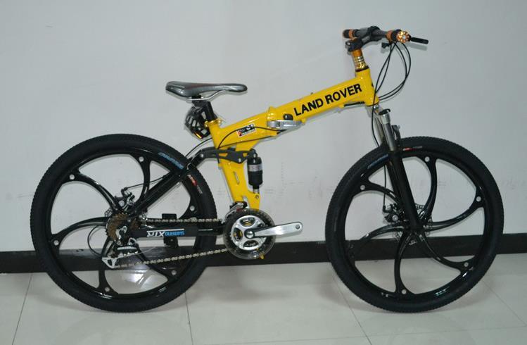 Free shipping 24 high speed 26 inch suspension girl man woman bike folding Magnesium alloy Mountain Bike bicycle 73(China (Mainland))