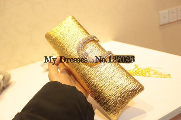 2014 New Women Handbag Bronzing Bark Crystal Evening Bags and Wedding Bags Desigual Messenger Bags 25(China (Mainland))