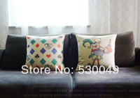 Free shipping 18''X18'' 2pcs High-quality heavy (200g/pc) the king head & King  pillow cover S034