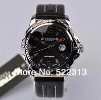 JULIUS Men casual quartz watch digital scale Complete Calendar leather watches JAH-007