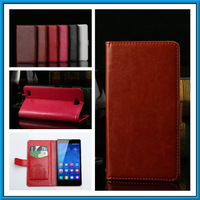 Luxury  Flip Case  For HuaWei Honour 3X  Leather Case For HUAWEI Honour 3X Protective Case Shell
