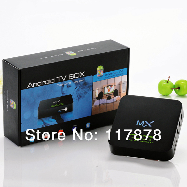 AML8726-MX Google TV Box with 2.4GHz wireless mouse Mini Pc Android4.2 1G 4GB(China (Mainland))