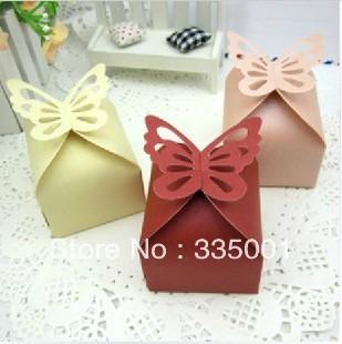 Wedding favor --elegant and joyful box/butterfly and joyful box personalized ideas party gifts 100pcs/lot(China (Mainland))