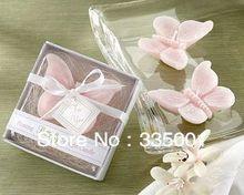 Свадьба бабочка свеча в подарочной упаковке 50 шт./лот