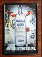 ABSOLUT VODKA ! Retro Metal Art Poster Vintage Antique Metal Tin Signs Decor Home Club Bar Cafe Hotel F-94 20x30CM FreeShipping