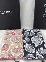 2014 new style scarf abstract is available 14 Mumi sided twill scarf shawl hand side of camellias