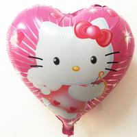 Foil balloon helium balloon aluminum foil kt heart automatic sealing balloon for party decoration