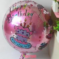 Good Quality aluminum foil balloon helium birthday party balloon round foil balloon