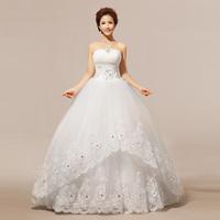 2014 new arrival winter wedding dress