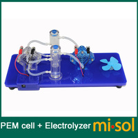 experiment tool( PEM cell + electrolyzer) to generate Oxygen and Hydrogen to generate power, for experiment