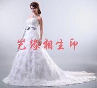 2014 sweet princess tube top quality mermaid wedding dress