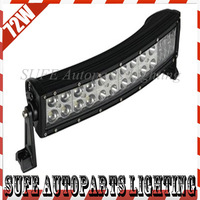 Free Shipping New Arrival CREE 10.5inch 72W Led Light Bar 4x4 Truck Curved Driving Light Off road arch bent LED Work Light Bar