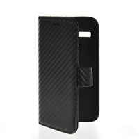 Carbon Fiber Flip Wallet Card Pouch Stand Leather Case Cover For Motorola Moto G