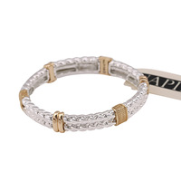 2014 New sliver/gold-plated luxury jewelry bijouterie charm bracelets & bangles for women high quality 140228