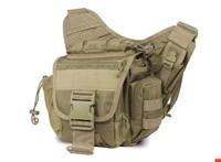 Andai waterproof outdoor travel bag tactical messenger bag shoulder bag pockets SLR Photography waist bag free shipping