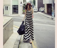Maternity Summer Dress Fashion Plus Size Floor-length One-piece Dress