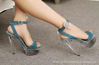 Luxury Platform Sandals With Heel 4 Colors Summer Big Sandals