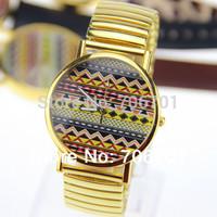 5 colors Fashion Woman Quartz Watches Leather women dress watch wholesale Unisex watches 1pcs/lot