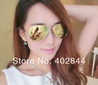 2014 new Women & Men Polarized Lenses Sunglasses Color coating sunglasses