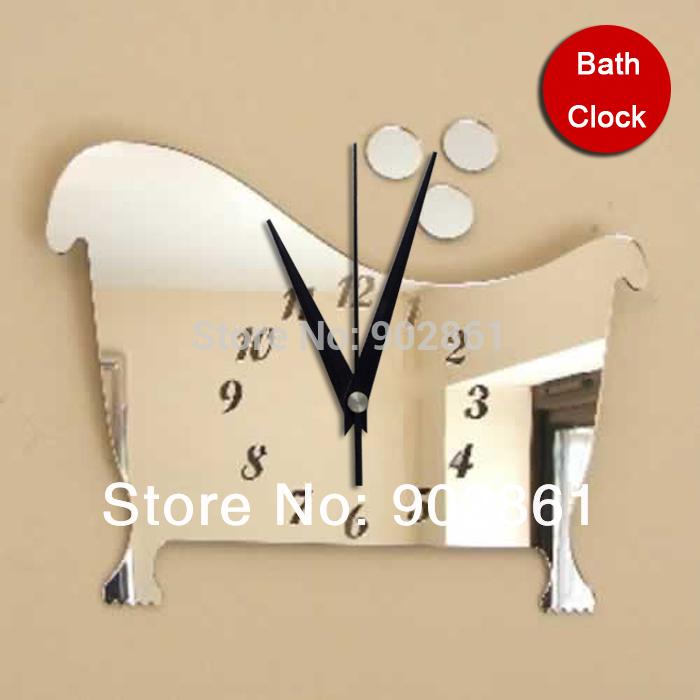 pour salle de bain en ligne des grossistes horloge pour salle de - Pendule Salle De Bain