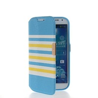Exquisite High-end Slim Flip Leather Pouch TPU Shell Case Cover For Samsung Galaxy S4 I9500