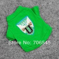 Free Shipping NEW  Pet Dog Cat Clothes Apparel Wholesale  Dogs Cotton t-shirt T5028