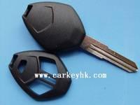 40pcs/lot   NO LOGO Mitsubishi 3 button remote key shell blank cover case fob without logo