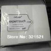 900pcs Lint Free Nail Wipes Russian  Free Shipping Nail Art Polish Acrylic Gel Remover Pad Nail Cleanning Wipes Necessities