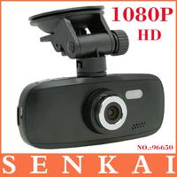 Free shipping,new Novatek 96650 HD 1080P car dvr 2.7 inch 1280 x 1080P Night Vision Continuous loop recording car camera