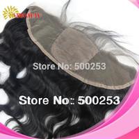 (13x4) Sunnymay Stock 6A Grade Natural Color Malaysian Virgin Hair Body Wave Silk Base Lace Frontal Closure With Baby Hair